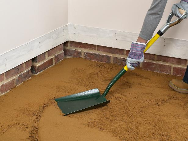 Как сделать пол из песка 594