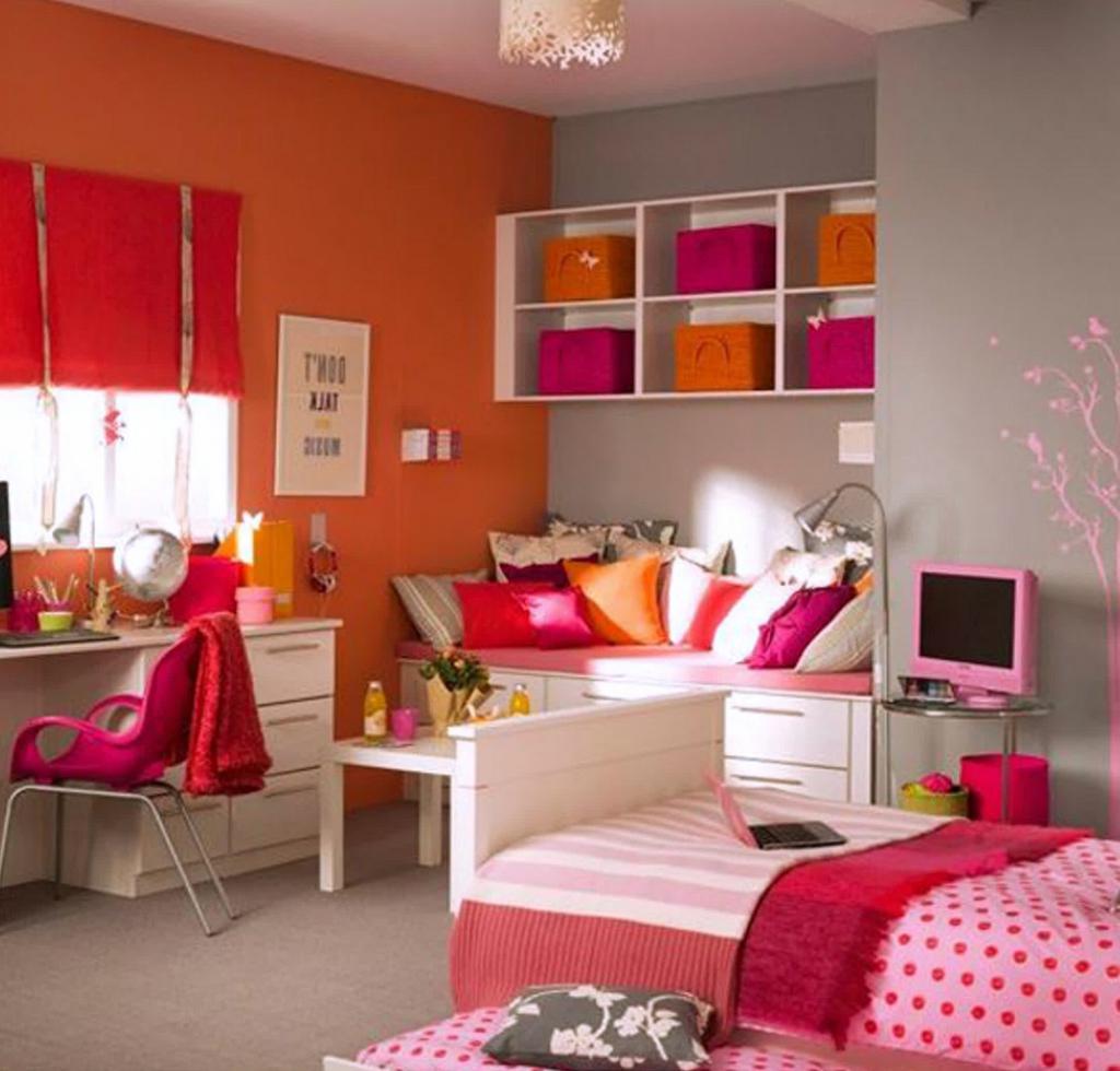 Картинки детских комнат для подростков девочек