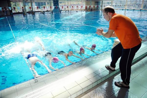 методика обучения детей плаванию