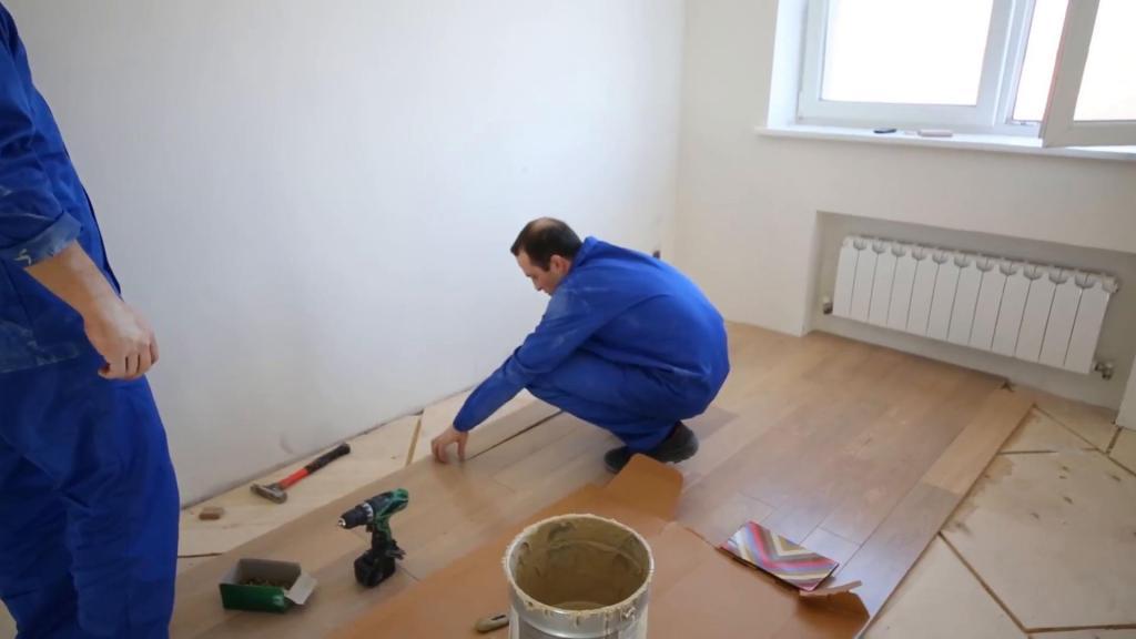 overhaul of the floors in the steel