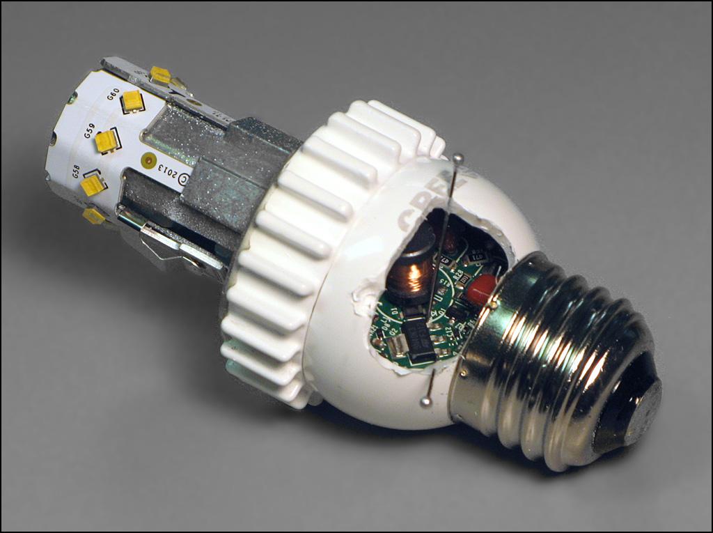 блок питания светодиодной лампы ремонт