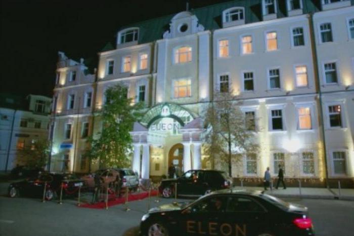 Где находится отель eleon кухня