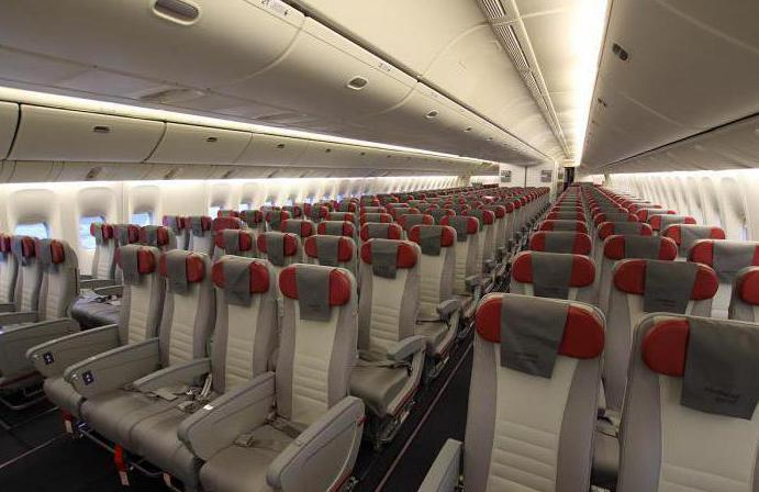 boeing 777 200er дизайн салона