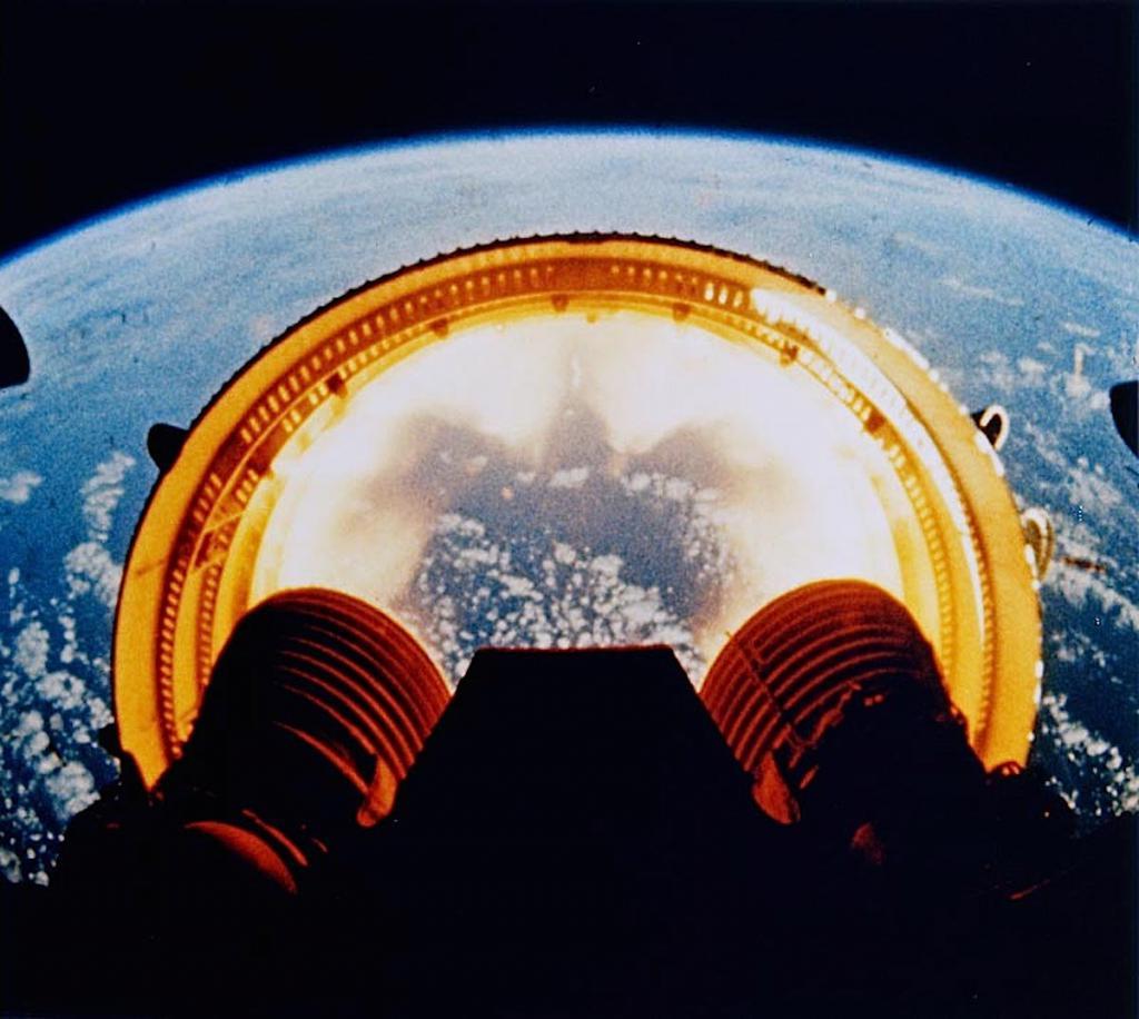 Отсоединение кольца от основного тела ракеты