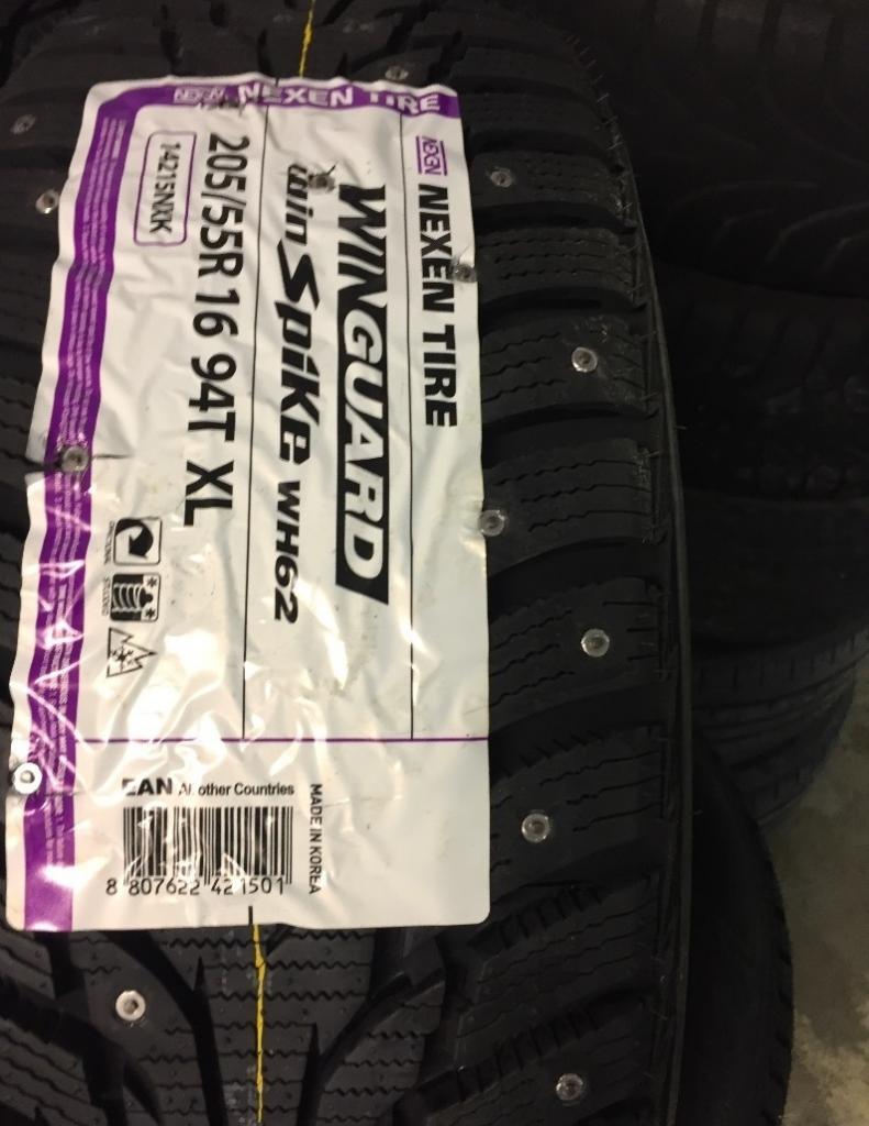 Покрышки Резина Nexen Winguard WinSpike WH62