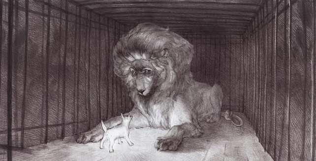 """Рассказ """"Лев и собачка"""". Краткое содержание"""