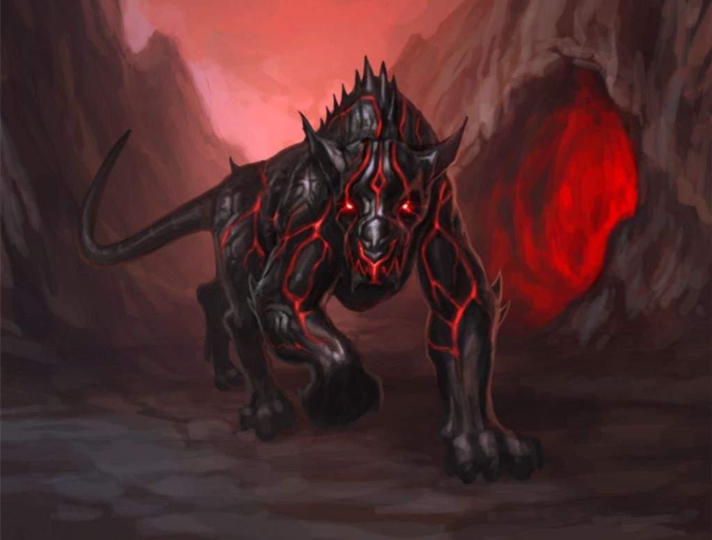 Адский волк