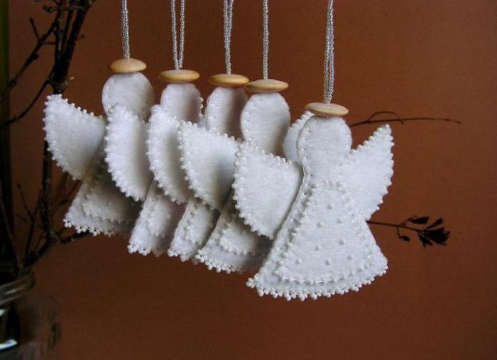 агелочки из фетра