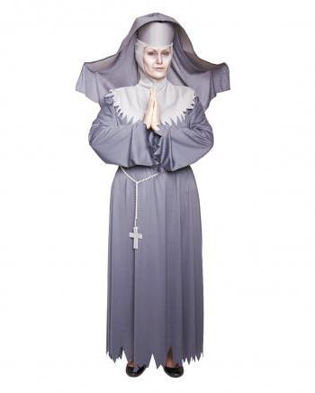 монашка костюм
