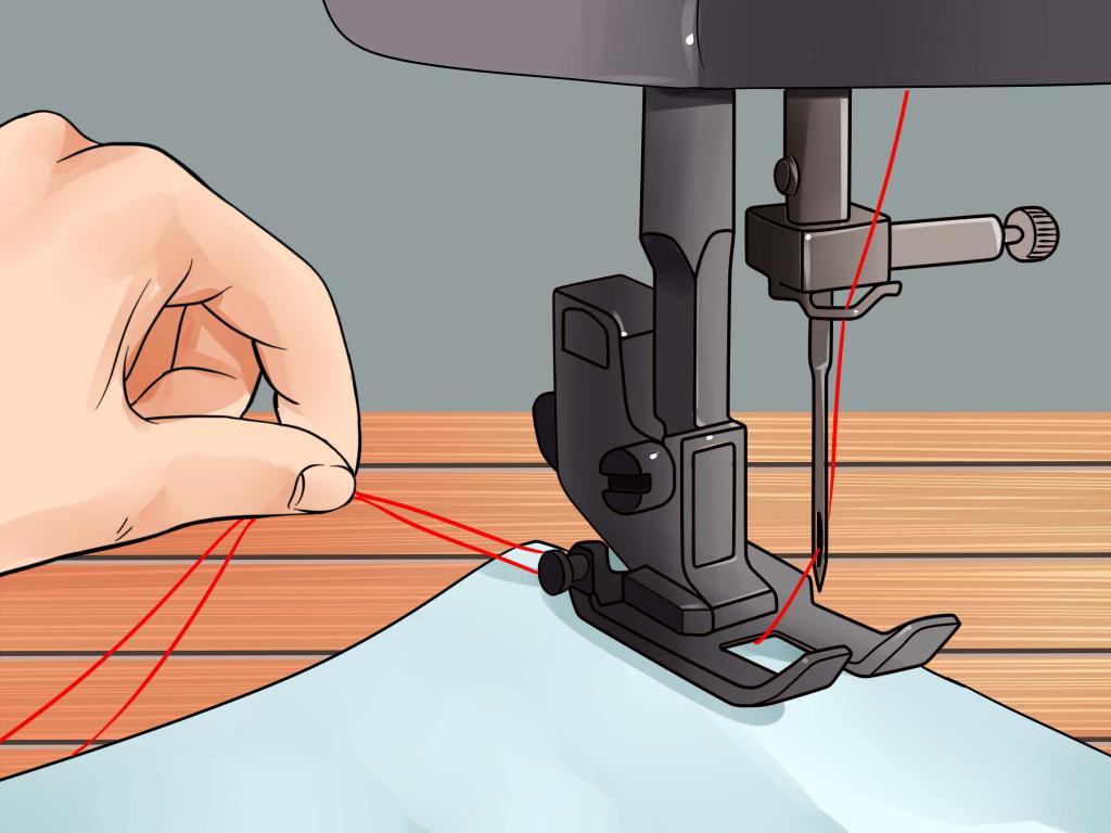 заправить швейную машинку картинках собираетесь приобрести