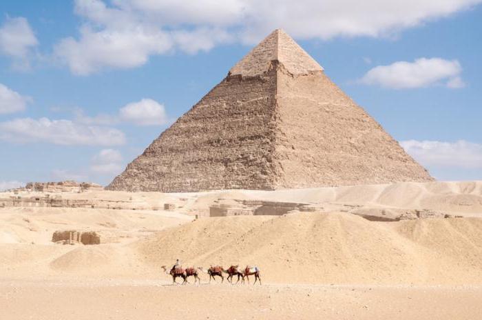 Египетская пирамида Менкаура