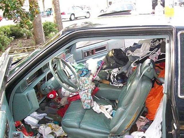 самые грязные машины