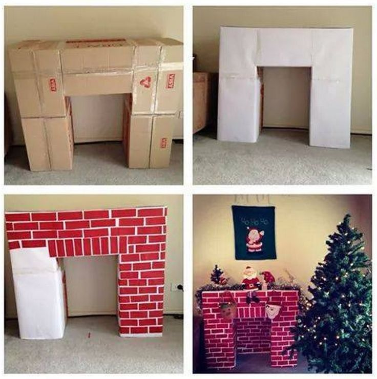 do-it-yourself fireplace