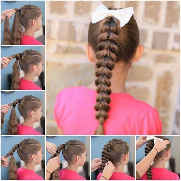 косы для детей