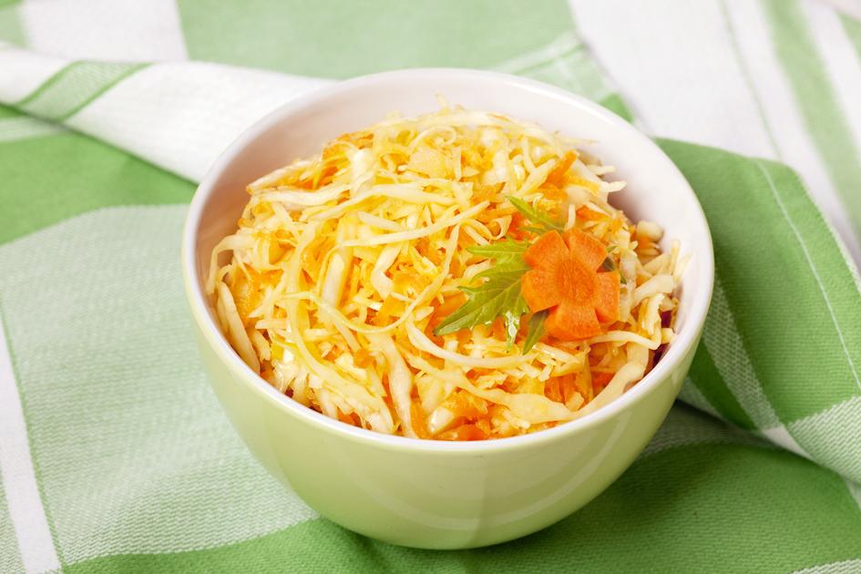 Картинка салат витаминный с капустой, набор открыток