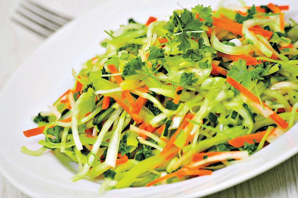 cabbage vegetable salad