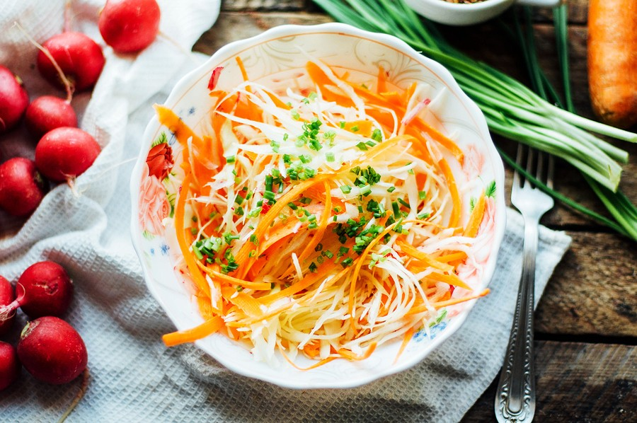 coleslaw with carrots