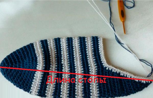 Вязание носков крючком: инструкция