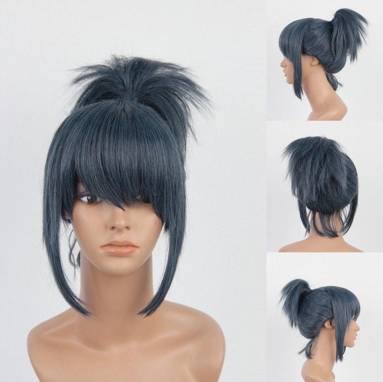 оригинальный хвост на короткие волосы