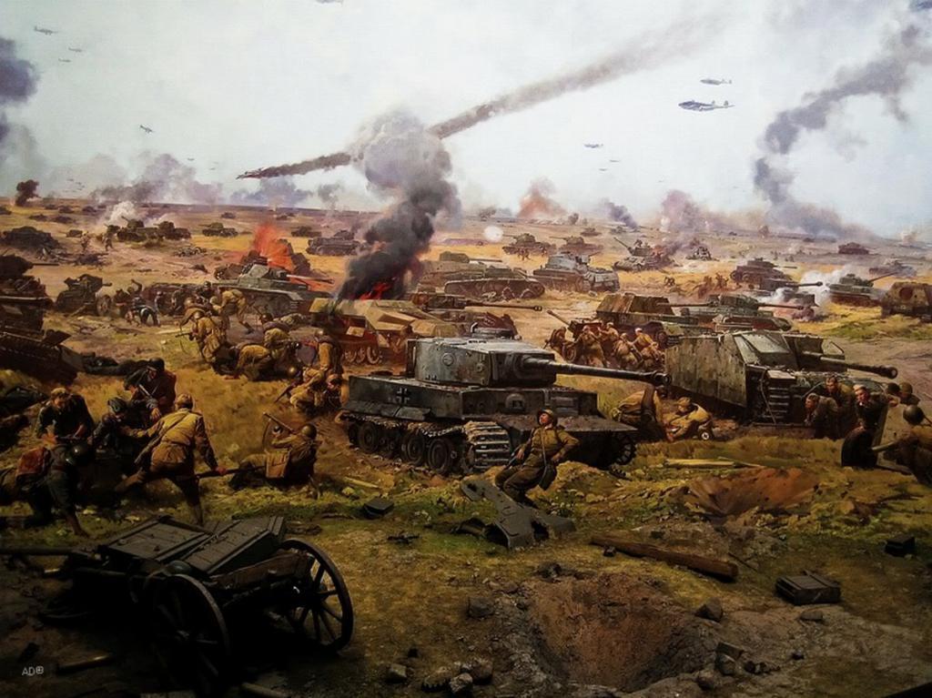 Курская битва в картинках