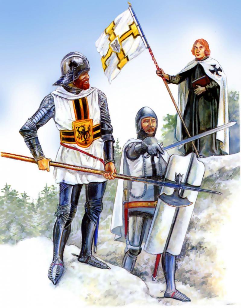 Тевтонский орден рыцари картинки