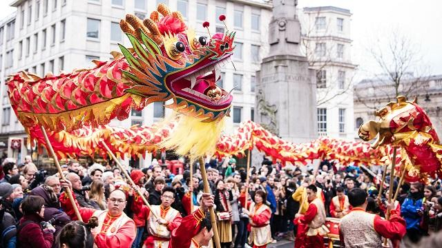 the chinese new year in usa