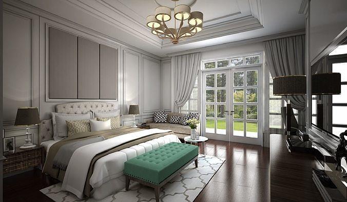 Классика в интерьере спальни: фото современных интерьеров