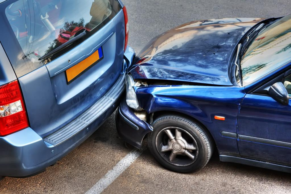 how to make an accident without calling the traffic police