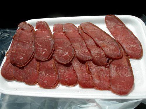Рецепт бастурмы в домашних условиях из говядины