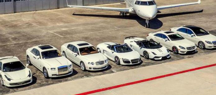 Автомобили класса люкс: список