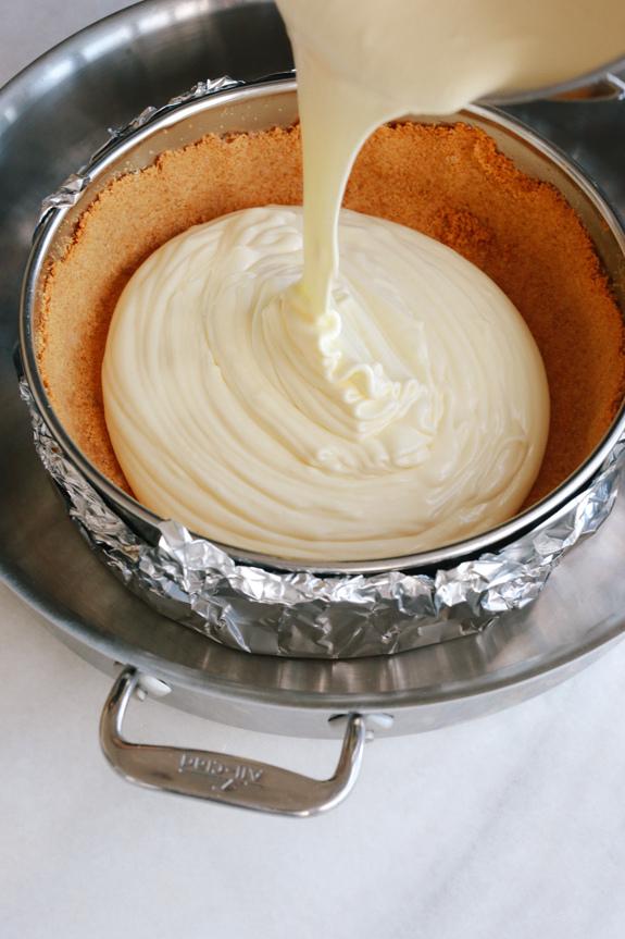 How to Bake Mascarpone Cheesecake