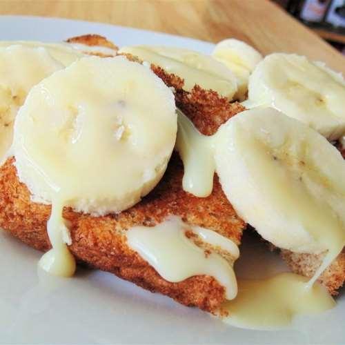 Торт с бананами без выпечки