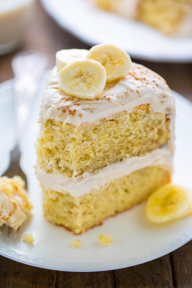 Рецепты торта с бананом