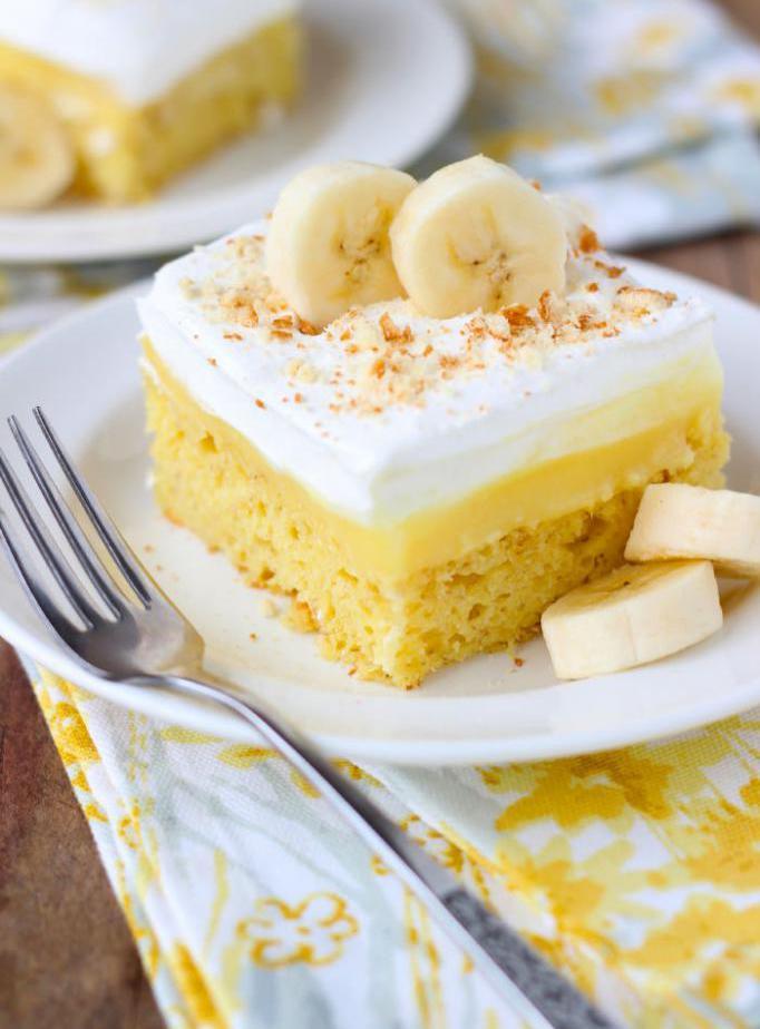 Способы приготовления бананового торта