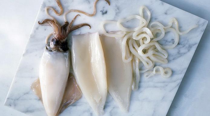 Как подготовить кальмары