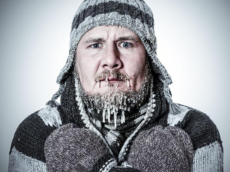 Почему возникает обморожение