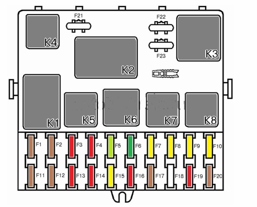 Схема приборной панели ВАЗ-2110