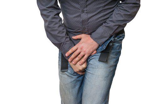 The first symptoms of prostatitis