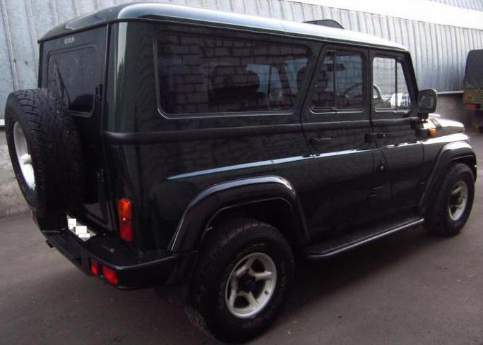 Комфортабельный внедорожник УАЗ-3159