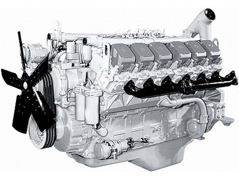 фото двигателя ЯМЗ 240