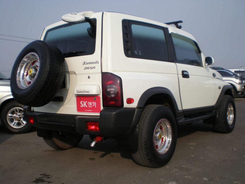 авто санг йонг корандо