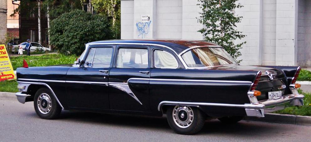 gas 13 seagull legendary soviet cars