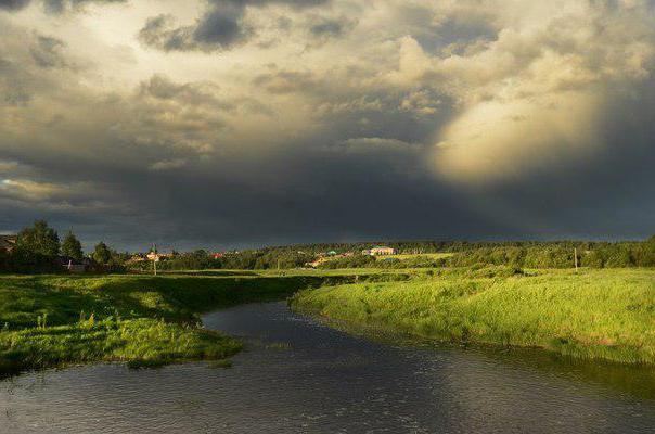 Реки Костромской области