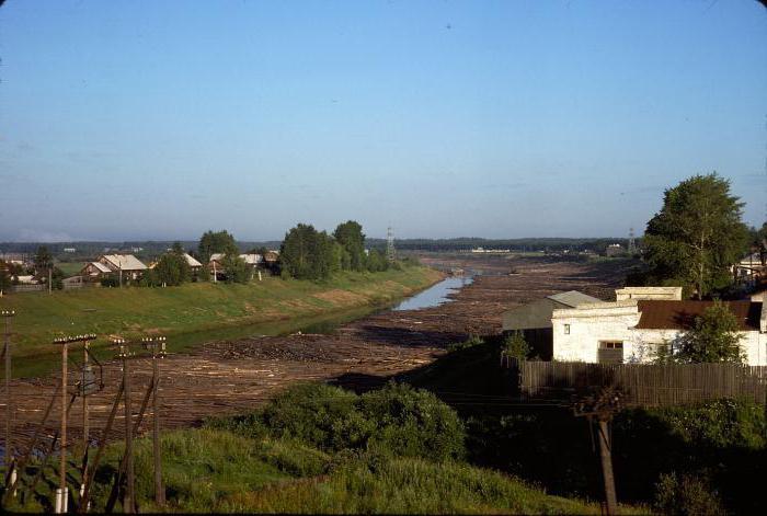 Река Кострома Исток