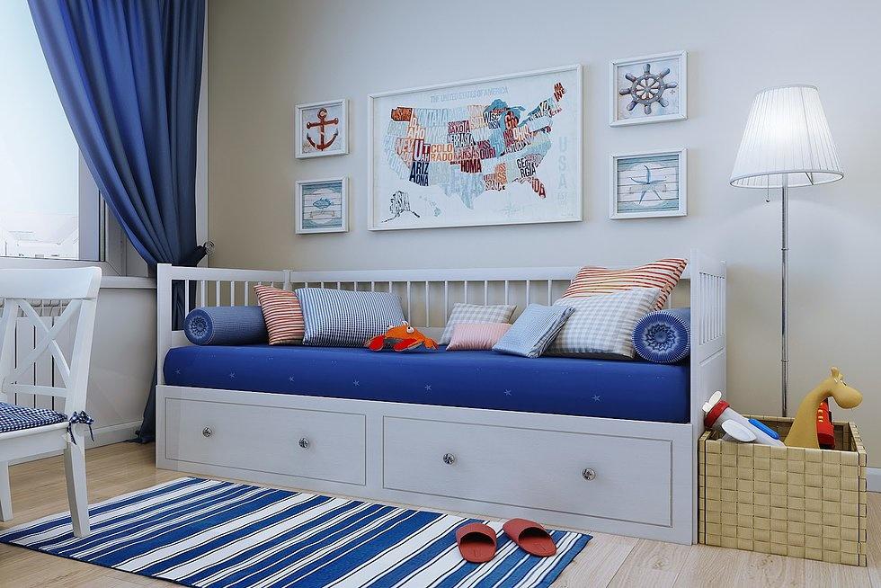IKEA furniture in the nursery