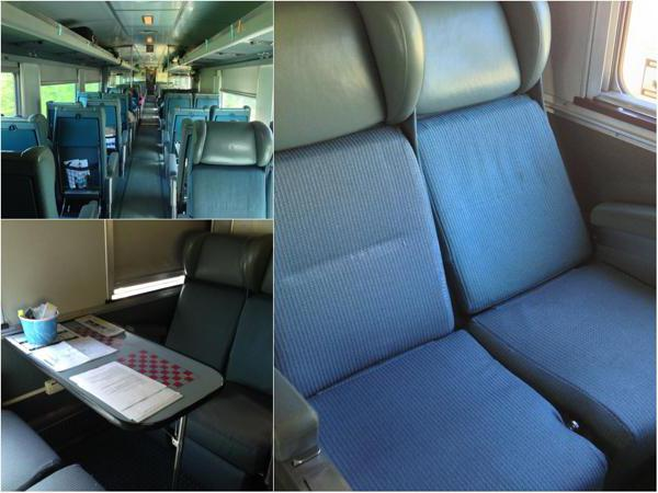 Поїзд 147я сидячі місця