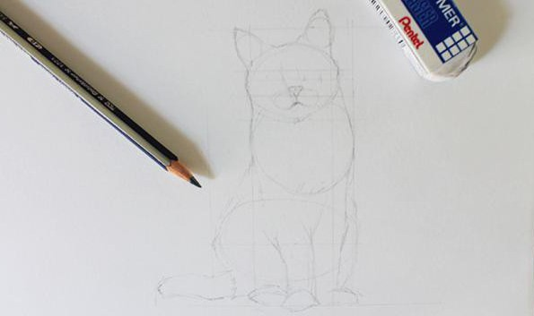 Как нарисовать животных простым карандашом