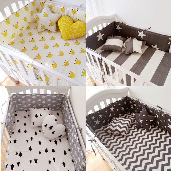 низкие бортики в кроватку для ребенка