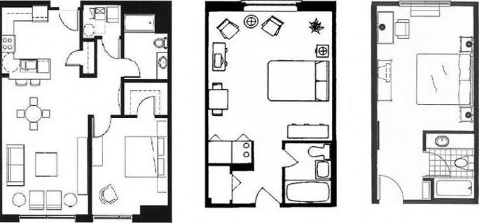 планировки квартир в типовых домах