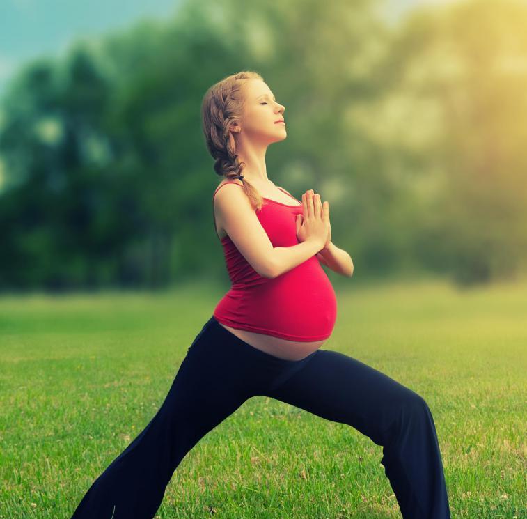 Физкультура для беременных с картинками